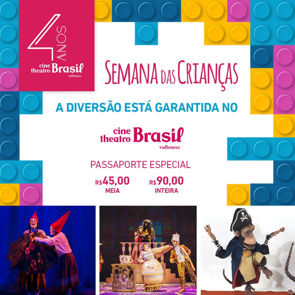 Semana das Crianças Cine Brasil