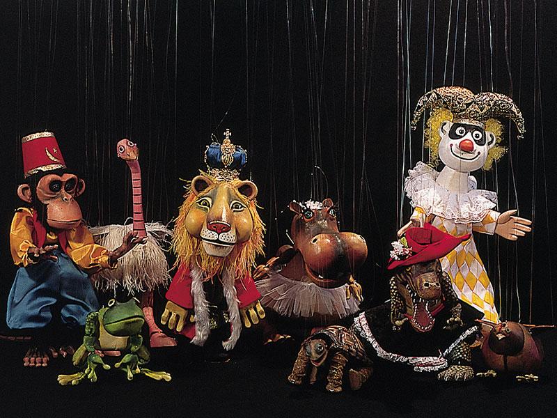 Espetáculo Carnaval dos Animais, do Grupo Giramundo